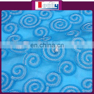 2015 hot product high quality stones organza for dhaka saree for women clothing