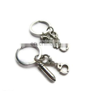 Modern Style Simple Metal Zinc Alloy Key Chain