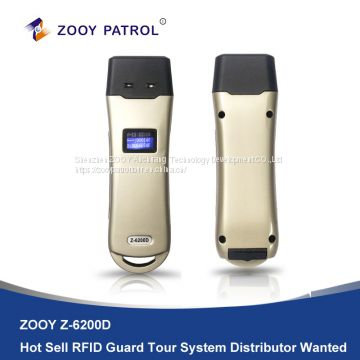 Z-6200D Guard Patrol System with LCD Display