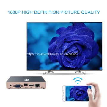 Mirroring link wifi miracast dongle android tv box 1tb hd media player