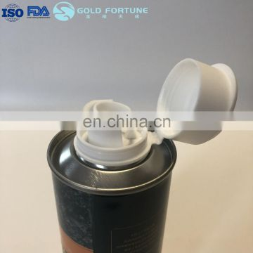 500ml Metal Round Oil Can For Sunflower Oil