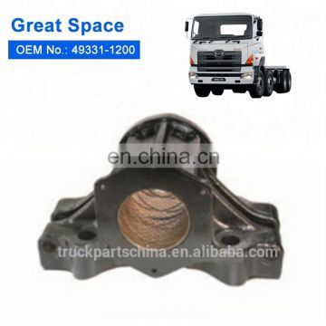 49331-1200 9cm lower casting trunnion seat with bushing for hino truck