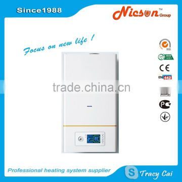 16-40kw natural gas boiler gas water heater home heating system ...