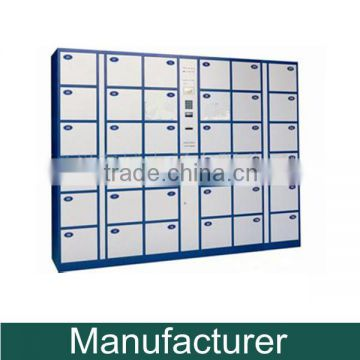 Steel Supermarket Barcode Electronic Locker