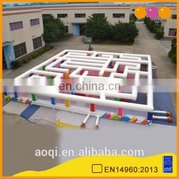 giant inflatable maze game children playground equipment for sale