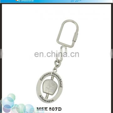 OEM & ODM Service Logoson Custom Deutschland Germany Souvenir Keychain Manufacturers In China
