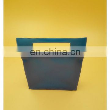 New style PVC clear zipper bag for cosmetics