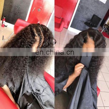 Malaysian deep curly hair fast shipping virgin hair
