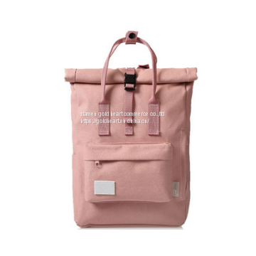 Blank rucksacks campus eco-friendly cheap teenage girl school bags cheap plain woman pink backpack