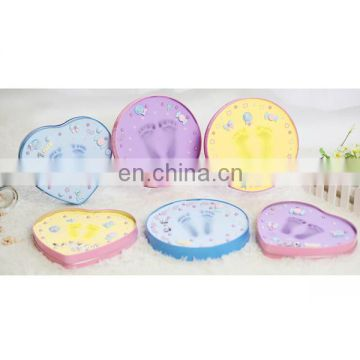 Wholesale china manufacturers playdough gifts baby handprint kit kids art