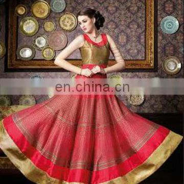 Party wear red elegance floral suits for girls and woman