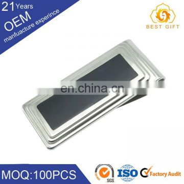 men customized business gift aluminum money clip