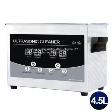 Ultrasonic Cleaning Machine 4 5L Electronic Components Glasses Lab