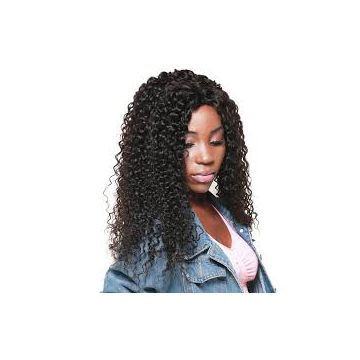 Natural Wave  Brazilian Curly Brown Human Hair Aligned Weave