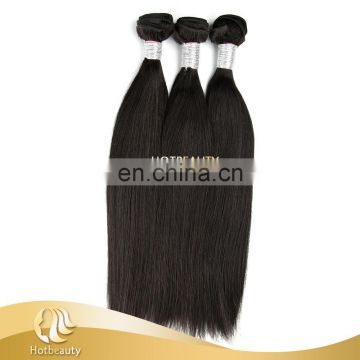 Hot Beauty Wholesale 7A Straight Peruvian Cheap Human Hair Weaving