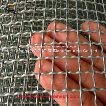 Galvanized Iron Square Wire Mesh High Tensile Strength And Toughness