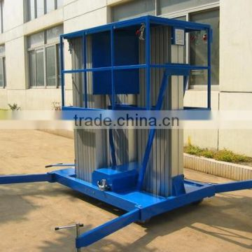 Mobile electric aluminum aerial lifting work platform                                                                         Quality Choice