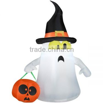 Airblown Inflatables Outdoor Ghost with Candy Tote, Small