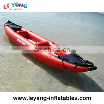 Double fishing kayak korea / inflatable kayak pvc / inflatable lovers kayak canoe for sale