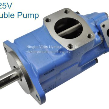 Variable Displacement Pump 3525V Double Vicks Hydraulic Pump