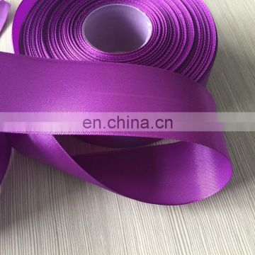 2015 Decorative Polyester purple Satin Ribbon