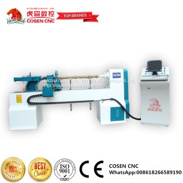 cosen cnc wood turning lathe machine