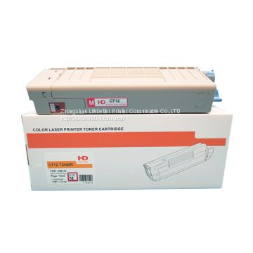 Compatible Toner Cartridge for Use in OKI C712 C712N C712DN C712DNW