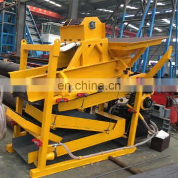 Alluvial gold mining equipment