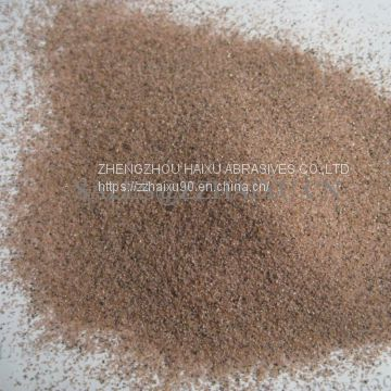 Pink garnet sand 30/60 50/80 for blasting china manufacturer