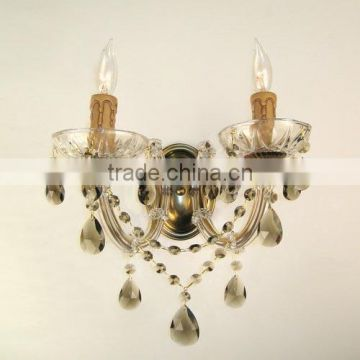 High quality cheap simple crystal wall light for sale