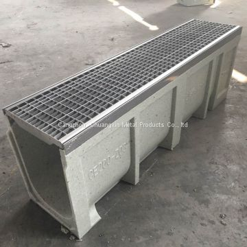 linear drain trench/ drainage channel/polymer trench drain