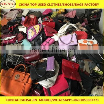 37d398e72874 fairly used bags in bales wholesale China second hand leather used bags  women men office bags for Cameroon used bags buyers of used bags from China  ...