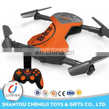 2017 Newest 2.4G 0.3mp wifi camera long range folding drone