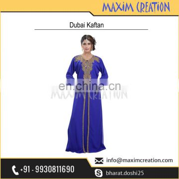 Simple Elegant Party Wear Costume For Arabian Ladies By Maxim Creation 6447