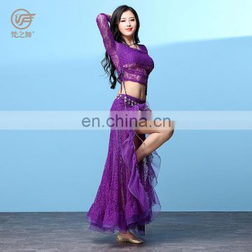 T-5208 Egyptian lace lady belly dance costumes