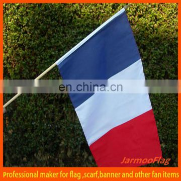 digital printed France hand flag