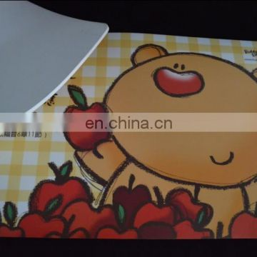 fashion custom eva dinner mat