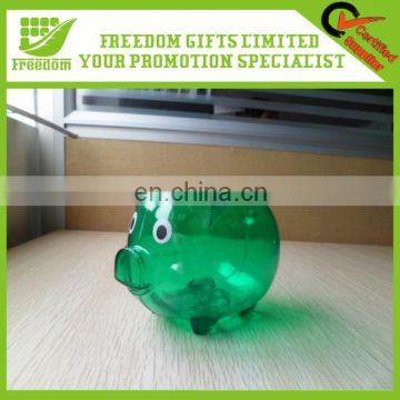 Bulk Cheap Logo Custom Plastic Money Box