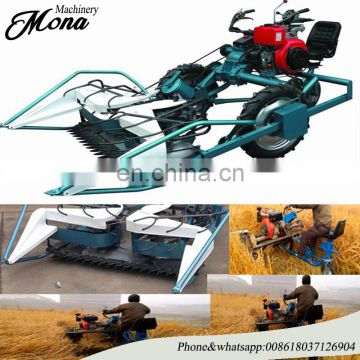 long working life self-walking Smart rice&wheat harvester