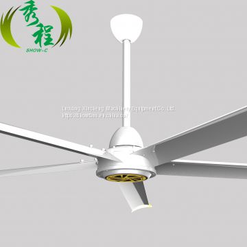 Powerful Engine 7.3M China Orient Industrial Ventilation Fan With Metal Blades