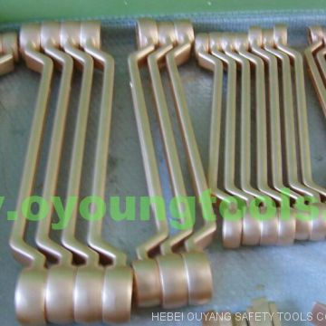 Non-Sparking Hand Tools Combination Spanner 30mm Copper Beryllium ATEX OIL GAS OILFIELD TOOLS