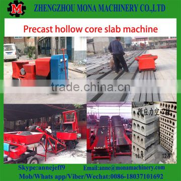 Hollow Core Cement Slab Making Machine/Concrete Panel Forming Machine