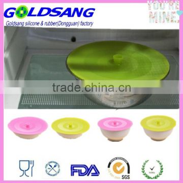 Microwave Oven Safe Silicone Suction Lid Cover