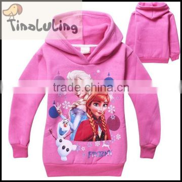 Hot! clothes children hoody Long Sleeve for baby Girls winter Wear New brand Sweatshirts coats &jacket