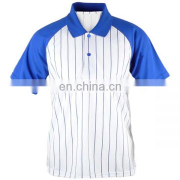 OEM blue and white sportswear, custom bowling shirts for men