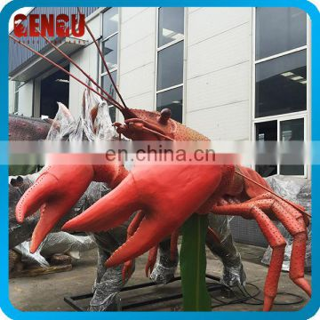 Remote Control Animal Model Animatronic Lobster