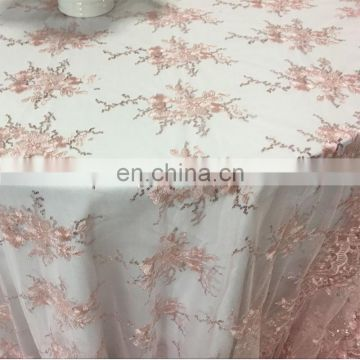christmas embroidery lace table cloth overlays