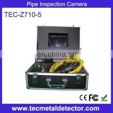 Underwater monitoring camera system TEC-Z710-5, small size CCTV camera