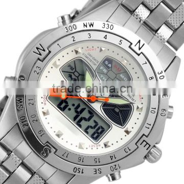 men man analog digital sport quartz watch led watch WM014-ESS