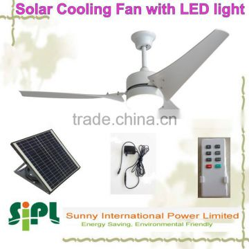 vent goods plastic fan blade solar ceiling fan ac dc adapter 12v solar ventilation fan in ceiling led light